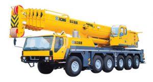 Mobile crane training in Uganda